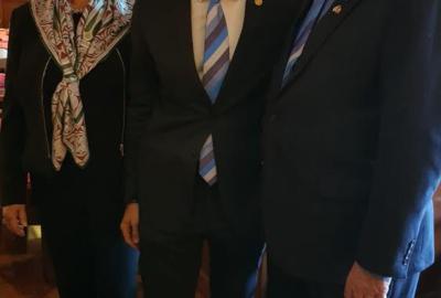 Incontro con Barry Rassin – Presidente Rotary International