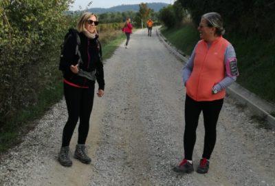 La passeggiata della famiglia Rotariana